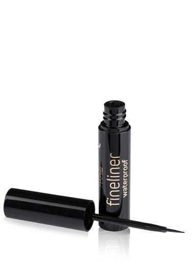 Pierre Cardin Fineliner Waterproof - Suya Dayanıklı Siyah Likit Eyeliner Siyah